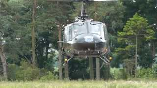 Huey UH-1H Iroquois Start-up and Take-off
