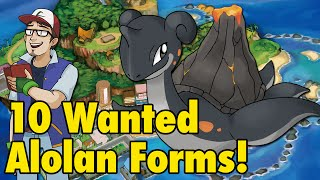 getlinkyoutube.com-10 Wanted Sun/Moon Alolan Forms
