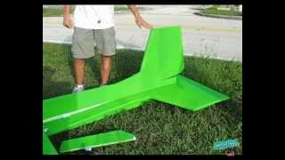 getlinkyoutube.com-RC Giant Electric Edge 540 - 9 foot - 16 pounds - CRASH