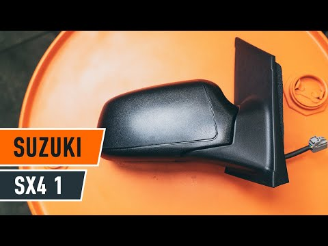 How to replace Wing Mirror on SUZUKI SX4 1 TUTORIAL | AUTODOC