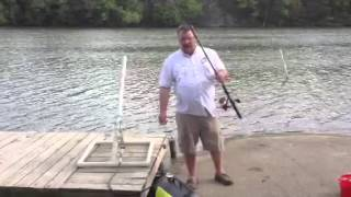 getlinkyoutube.com-Cat fishing with an air cannon