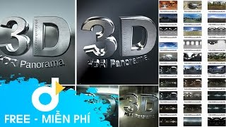getlinkyoutube.com-Thư Viện 50 HDRI Panorama cho Blufftitler