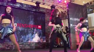 Loisa Andalio dancing to Touch #ClubPenshoppePH (Push Alerts - Left VIew)