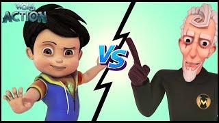 Vir: The Robot Boy   Hindi Cartoons for kids   Mad Max's UFO   WowKidz Action width=