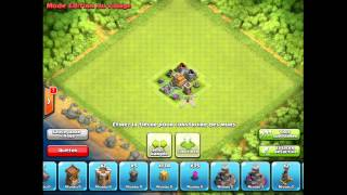 getlinkyoutube.com-Creer un Village Mode defense avec un HDV LVL 4 ? :)