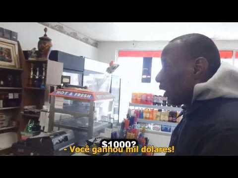 Morador de Rua Ganha na Loteria - Homeless Lottery Winner (Legendado)