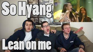 getlinkyoutube.com-So Hyang - Lean on me MV Reaction