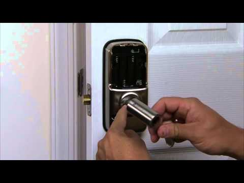 Yale Real Living Lever Lock Installation - Install Interior Lever 06