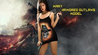 getlinkyoutube.com-Armored Outlaws Model: Mary Behind the Scenes