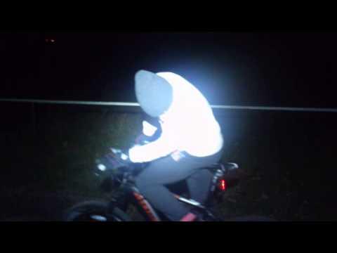 Тест новой крутой мощной Велофары UniqueFire HD005-3 3800Лм