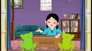 Antara Chowdhury | Salil Chowdhury | O Sona Byang | Animation Video