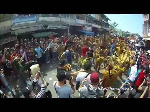 Cap Go Meh Tatung Procession 2015 Singkawang Kalimantan Barat 印尼 (Full)