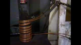getlinkyoutube.com-Homemade woodstove radiator