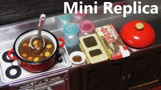 getlinkyoutube.com-Re-Ment collectables #2 - Cooking, Mom's kitchen