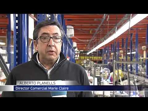 Telecinco se hace eco de la noticia: Marie Claire fabrica batas y mascarillas sanitarias