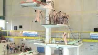 getlinkyoutube.com-Diving at the Mayflower swimming pool in Plymouth, Devon