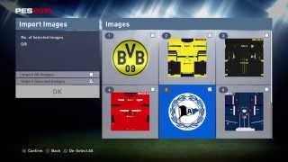 PES 2016 - Editor - Importing Kits und Logos [English] Borussia Dortmund