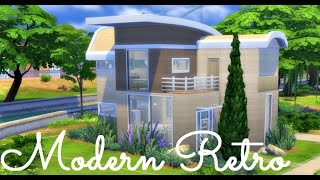 getlinkyoutube.com-Sims 4 | House Build: Modern Retro Starter