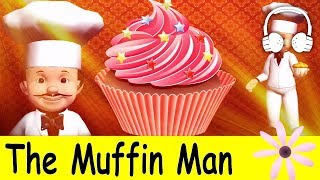 getlinkyoutube.com-The Muffin Man | Family Sing Along - Muffin Songs