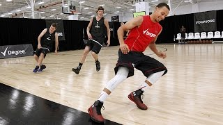 getlinkyoutube.com-Stephen Curry's Pre-Draft Workout - Full Workout Highlights |Rare Footage