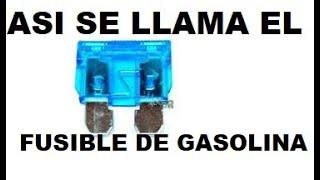 getlinkyoutube.com-Como Se llama el fusible de la bomba de gasolina?