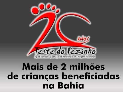 Comemoração dos 20 anos do Teste do Pezinho - Apae Salvador