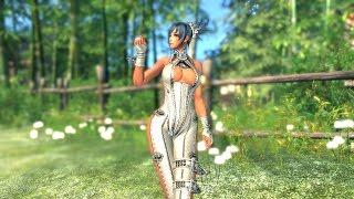 getlinkyoutube.com-Blade & Soul Sexy Costume Jin Female 01
