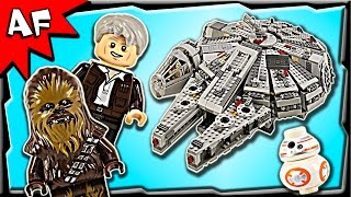 getlinkyoutube.com-Lego Star Wars MILLENNIUM FALCON 75105 Stop Motion Build Review
