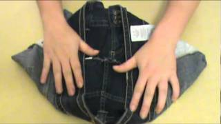 getlinkyoutube.com-How To Make A Purse Out of a Pair of Jeans by Austin Howell