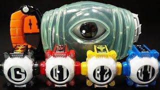 getlinkyoutube.com-仮面ライダーゴースト DXゴーストドライバー オレ ムサシ ニュートン エジソン ゴーストアイコン Rider Ghost Ore Musashi Newton Edison Ghost Eyecon