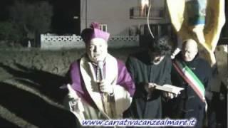 Cariati 8/1/2012 Posa della prima pietra Nuova Chiesa di Tramonti