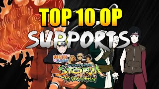 getlinkyoutube.com-Naruto Ultimate Ninja Storm Revolution - Top 10 OP Supports w/ Commentary