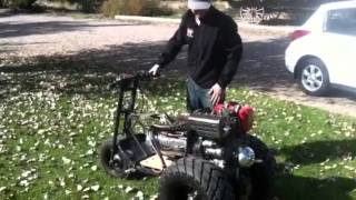 getlinkyoutube.com-Diesel Tote Gote mini bike trike