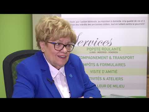 Huguette Chevalier, une grande bénévole