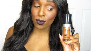 *BRAND NEW!* #MAKEUPFOREVER ULTRA HD INVISIBLE COVER FOUNDATION | 1ST IMPRESSION & FULL DEMO!
