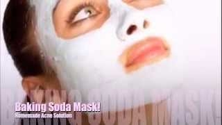 getlinkyoutube.com-Baking Soda Mask! (Helps with acne)