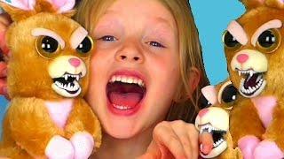 Disney la Reine des Neiges sauve les FEISTY PETS peluches