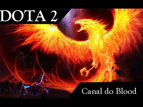 Dota 2 - Phoenix the fuking hero