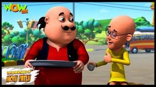 Gusse Wali Chai - Motu Patlu in Hindi - 3D Animation Cartoon - As on Nickelodeon