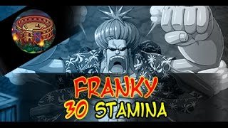 getlinkyoutube.com-Franky! Colosseum/Coliseum event  One Piece Treasure Cruise JP 30 Stamina!