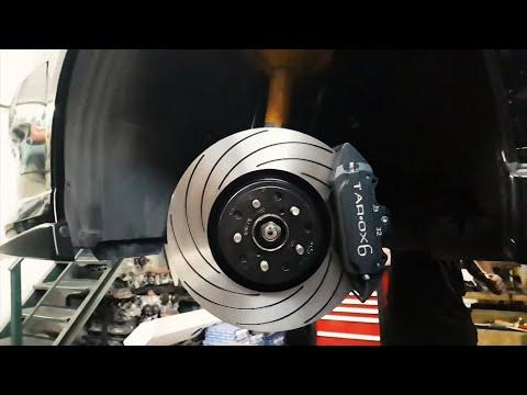 Тюнинг тормозов Subaru - TAROX 6 pot brakes installation - Строим Субару для гонок. ???? ????? TAROX