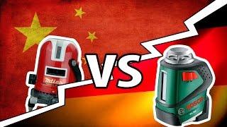 getlinkyoutube.com-Сравниваем китайский уровень с Bosch!!! Обнаружил КОСЯК(