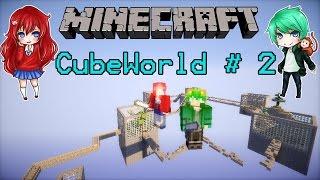 getlinkyoutube.com-Minecraft CubeWorld # 2 บ้านแม่มดดำ [KNcrazy]