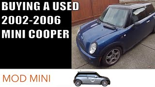 getlinkyoutube.com-Buying a used 2002-2006 MINI Cooper - what to look for mechanically