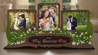 getlinkyoutube.com-Wedding Album Pop up Book (After Effects Template)