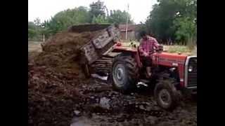 getlinkyoutube.com-Traktör Çekişmeleri Ayhan SARI Massey Ferguson 240 S