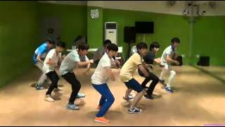 getlinkyoutube.com-130711 SEVENTEEN TV Heart Team B2ST Beautiful Performance