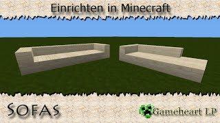 getlinkyoutube.com-MINECRAFT - Sofas / Einrichten in Minecraft