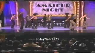 Dancing to Nas f Ginuwine - You Owe Me (2000 Apollo Amateur Night) width=