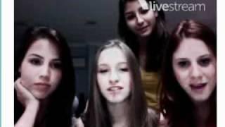getlinkyoutube.com-Twitcam com Carla Diaz, Juliana Xavier, Mari Cysne e Pérola Faria - 01/06/2011 - Completo